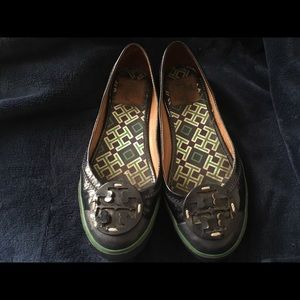 Tory Burch Navy patent leather 6.5